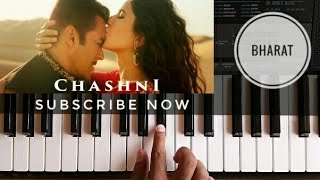 Chashni Song Piano Cover | Bharat | Salman Khan | Katrina Kaif | Abhijeet Srivastava