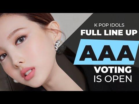 Asia Artist Awards 2020 Full Line Up Youtube