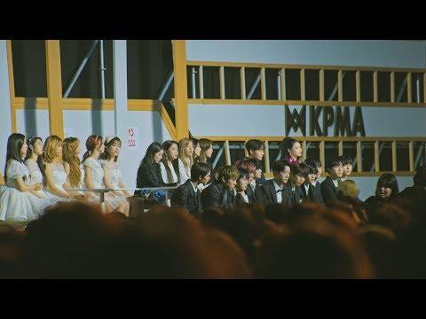 [Reaction To 숀(SHAUN) WAY BACK HOME] 레드벨벳(Red Velvet),워너원,오마이걸,청하@181220 KPMA [4k Fancam/직캠]