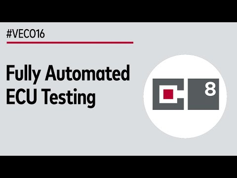 Fully Automated ECU Test in Continuous Integration