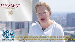 Josefa González-Blanco Ortiz-Mena de SEMARNAT también le renuncia a AMLO