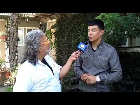Luis Coronel (Del Records) con Felix Castillo -Televisa - Canal 3- LOS REYES DE LA FIESTA