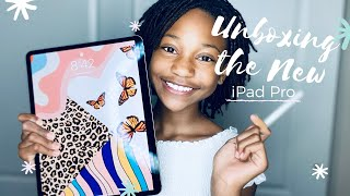 "2020 iPad Pro 12.9"" & Apple Pencil 2 Unboxing! 