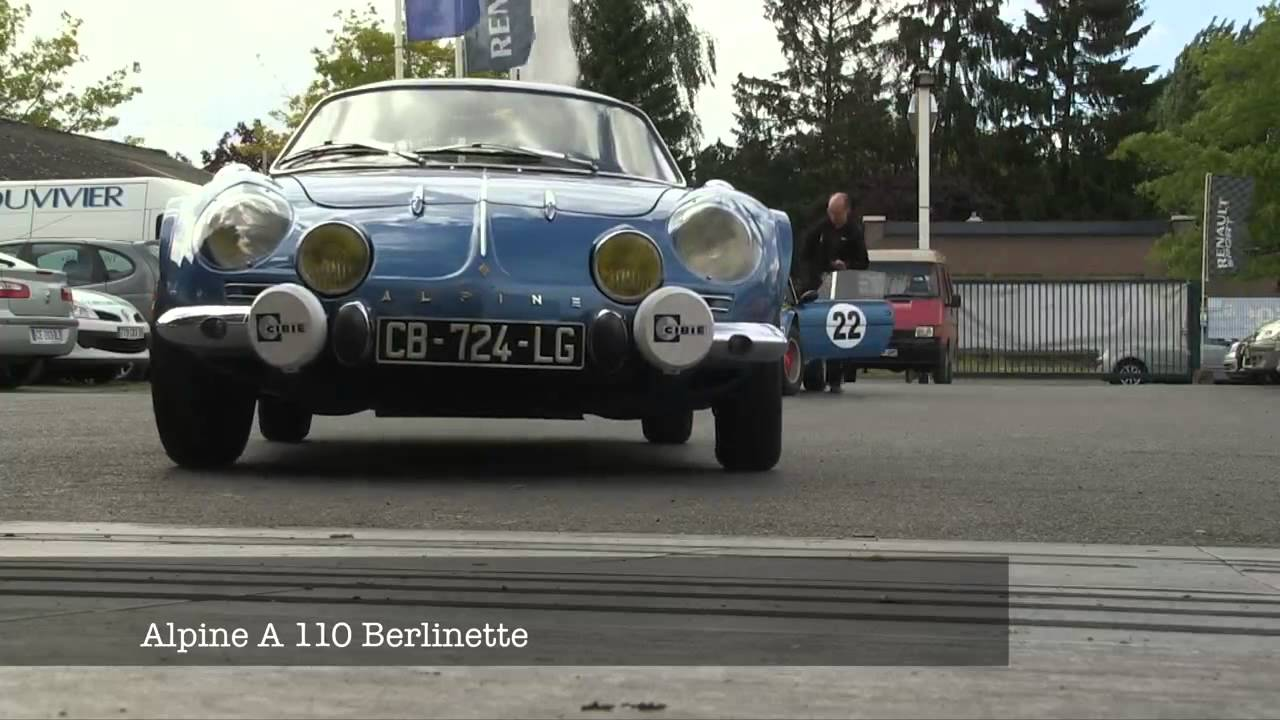 renault alpine a110 berlinette renault 8 emission voiture de km en km youtube. Black Bedroom Furniture Sets. Home Design Ideas
