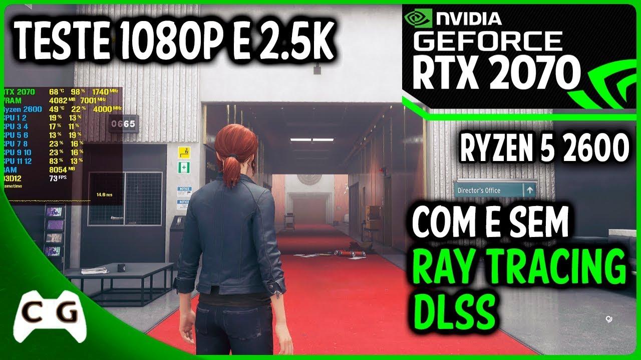 Control Gameplay RTX 2070 + Ryzen 5 2600 | Ultra + Ray Tracing + DLSS 1080p  / 2 5k #9