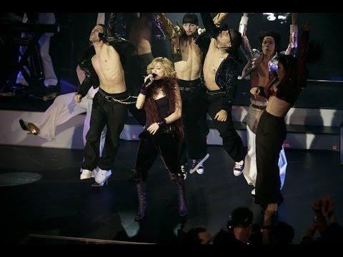 Madonna Hung Up Promo Tour  Live At KoKo Club
