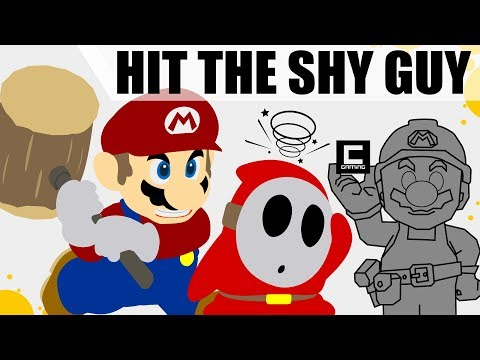 Mushroom Detection Contraptions in Super Mario Maker or Don't be a Shy Guy!