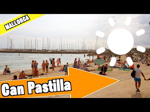 Can Pastilla Majorca Spain: Tour of beach and resort