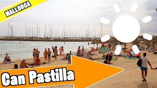 Can Pastilla and Cala Estancia Mallorca Spain: Tour of beach and resort