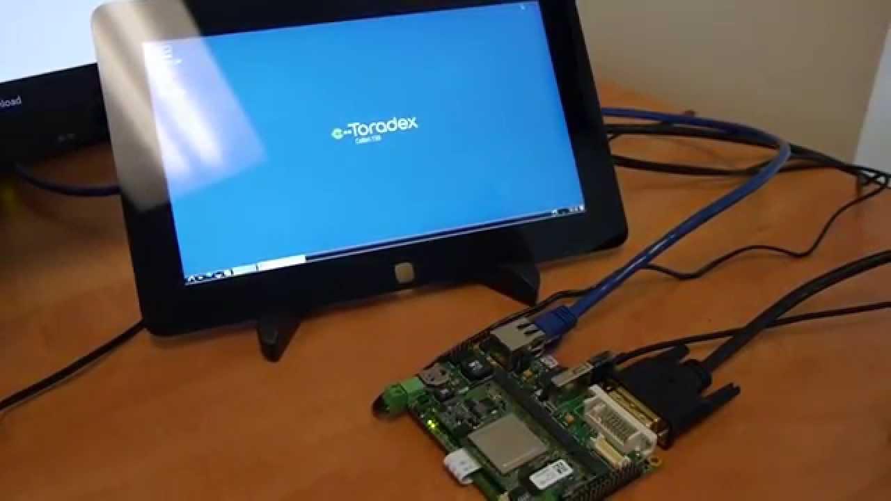 Web-based UI on Toradex SoMs using Node js & Socket io