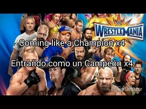 Wrestlemania 33 Official Second Song! Subtitulado Español-Ingles