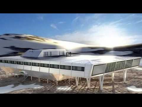 India's Bharathi Antarctic Research Station is Made From 134 Prefab Containers