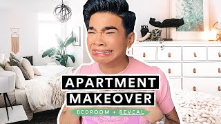 EXTREME APARTMENT MAKEOVER for Bretman Rock - THE REVEAL (Bedroom + Bathroom)