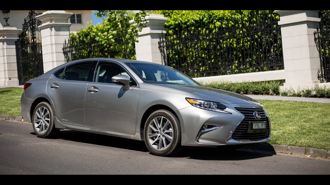 2016 lexus es300h review youtube. Black Bedroom Furniture Sets. Home Design Ideas