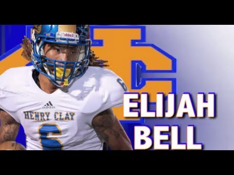 Elijah Bell - Henry Clay : Lexington Kentucky Class of 2014 - Junior Year Highlights