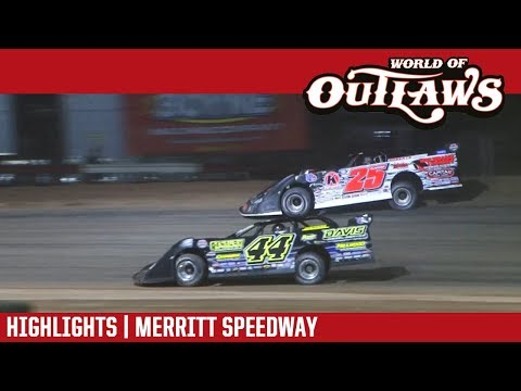 World of Outlaws Craftsman Late Models Merritt Speedway August 26, 2017 | HIGHLIGHTS