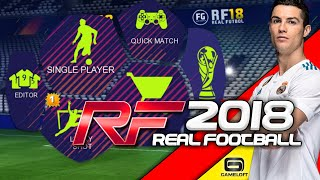 Real Football 2018 Android Offline 500 MB Best Graphics