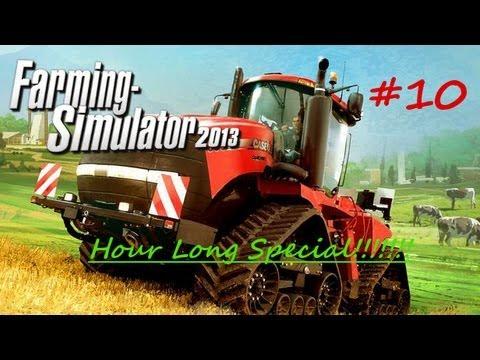 Farming Simulator 2013 Let's Play Episode 10:  Hour Long Super Duper BioGas Extravaganza Special!!