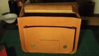 ทำกระเป าหน ง handmade leather satchel by mercury leather