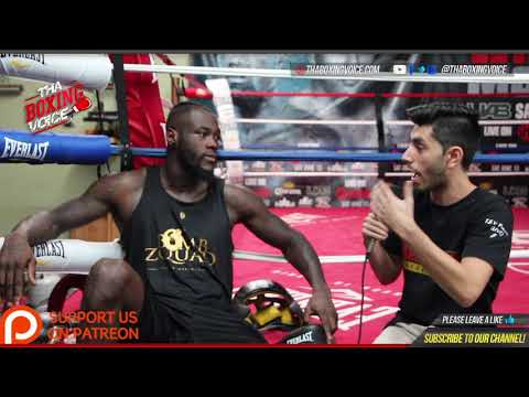 Deontay Wilder Discusses Colin Kaepernick, Police Brutality, & Kneeling During the Anthem in Boxing