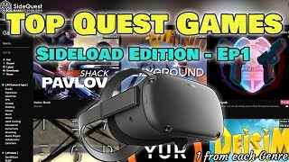 Top 10 Oculus Quest Games from Each Genre (Sideload Edition) ALL FREE!  - Ep 1