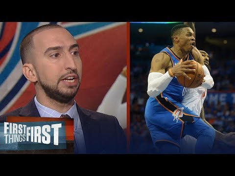 Nick Wright is 'legit excited' for the Oklahoma City Thunder in 2017-18 | FIRST THINGS FIRST