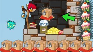 Bad Piggies - 5600+ SCRAPS MEET ANGRY BIRDS NEW CAKE RACE MAP
