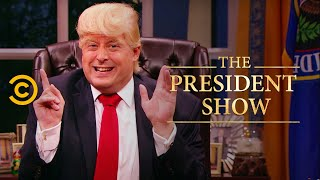 Nice! Not Nice! - The President Show - Comedy Central