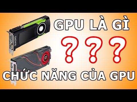GPU, Chip đồ họa, Card màn hình, ... LÀ GÌ??? | Chức năng của Card màn hình RA SAO?