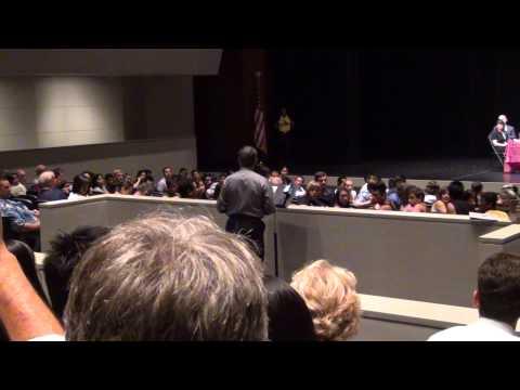 Arcadia School Board Meeting - O'Brien's Speech