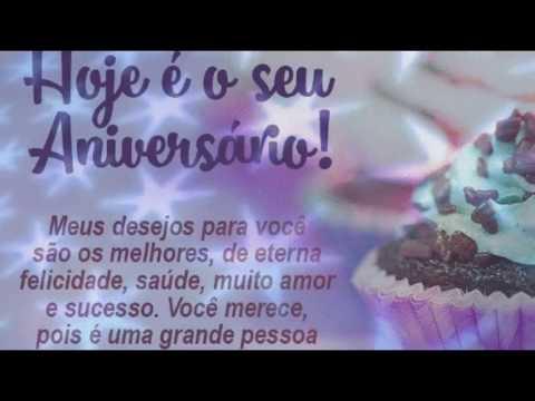 Video Mensagem de Aniversário Especial para Amigo Voz Feminina  Feliz Aniversario HAPPY birthday