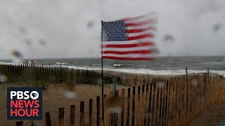 News Wrap: Tropical Storm Fay drenches parts of the East Coast