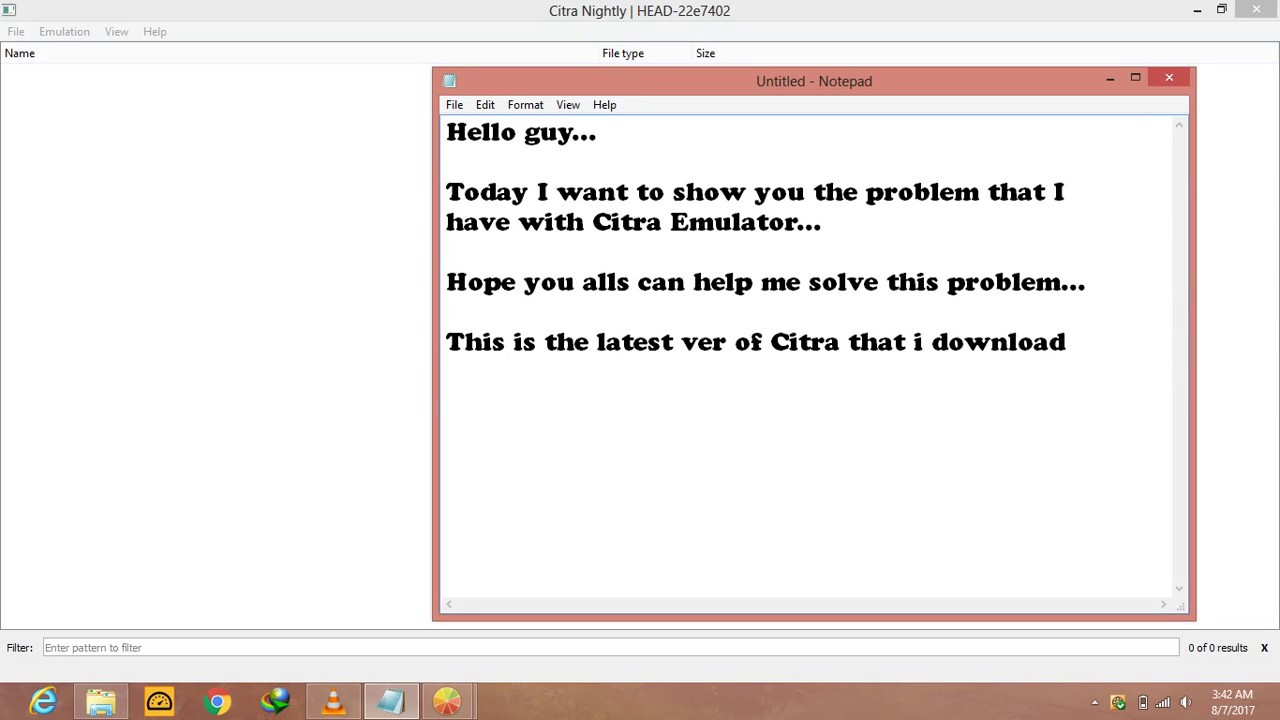 Citra Emulator black screen problem - YouTube