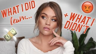 5 THINGS I LEARNED... + 5 THINGS I DIDN'T LEARN IN MAKEUP SCHOOL