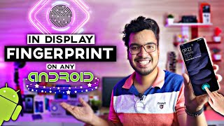 How To Get In Display Fingerprint Lock On Android || 100% Secure and Working || [HINDI-हिन्दी] 🔥 screenshot 1