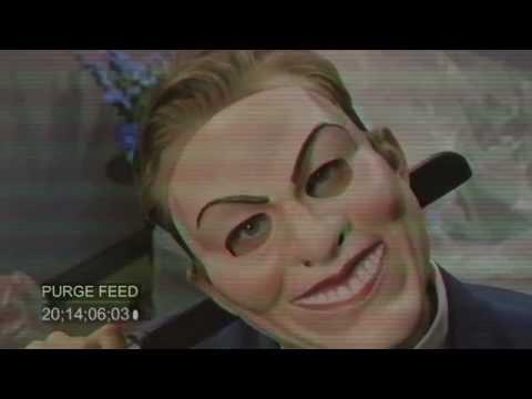 Survive The Purge 2015 Universal Studios Terror Tram Halloween Horror Nights