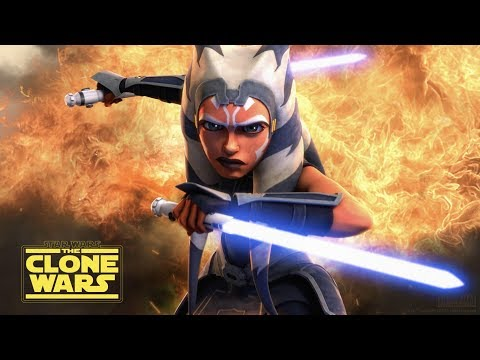 Star Wars: The Clone Wars season 7 trailer, Siege of Mandalore
