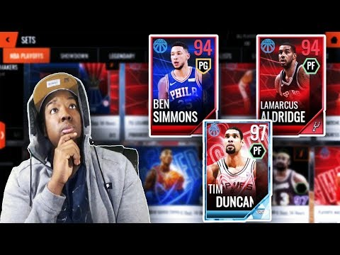 WHICH PLAYOFF SETS SHOULD YOU COMPLETE ON NBA LIVE MOBILE 18???