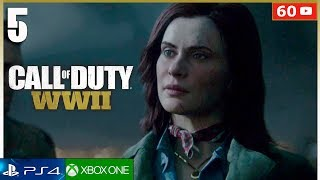 CALL OF DUTY WW2 Campaña Mision 5 PS4   Gameplay Español Parte 5 (1080p 60fps)