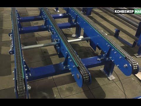 Цепочный конвейер фото ленточный конвейер