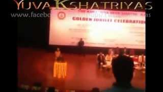 Andhra Governor E.S.L Narasimhan at Kshatriya Seva Samithi Golden Jubilee