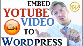 Embed YouTube Video In WordPress - STEP BY STEP