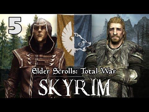 INVASION OF SUMMERSET ISLE - ENEMY OF MY ENEMY - Elder Scrolls: Total War - Skyrim Campaign #5