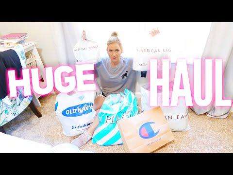 She HATES Shopping! (Huge Fall Shopping Haul) | Family 5 Vlogs