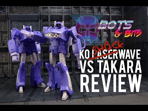 KO MP-29 Shockwave Ver.2 Vs Takara