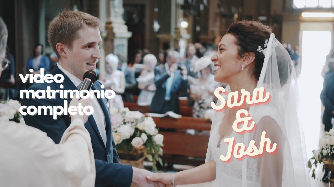 VIDEO MATRIMONIO EMOZIONANTE 🎬 Sara & Josh 😍