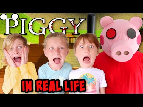 Roblox PIGGY In Real Life - Chapter 1: House