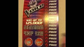 THE VOICE 🎤 AND FAST CASH💰 KANSAS LOTTERY TICKETS