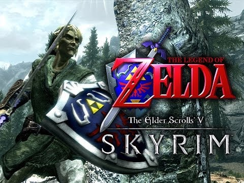 The Legend of Zelda Skyrim Mod Montage