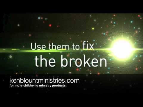 Use Me - Ken Blount (Love Out Loud DVD) kids children's church worship video lyrics dedication song